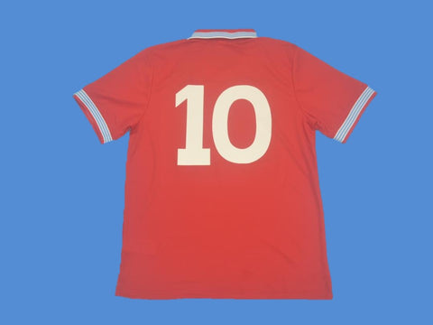 NAPOLES NAPOLI 1988 1989 NUMBER 10 AWAY JERSEY
