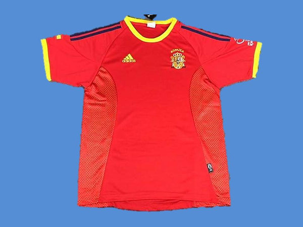 SPAIN 2002 WORLD CUP HOME JERSEY