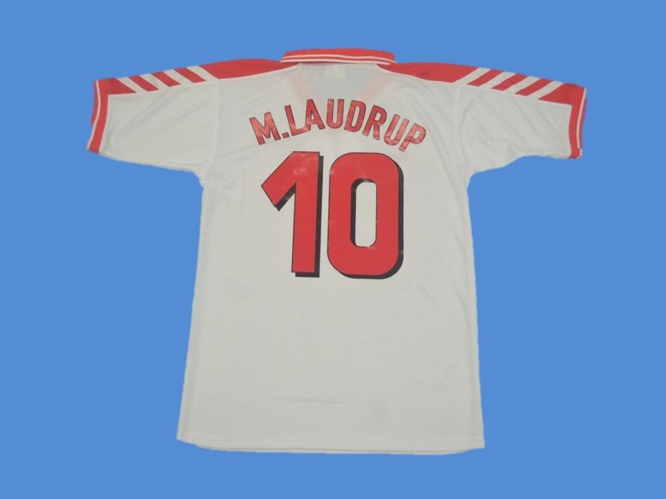 DENMARK 1998 M.LAUDRUP 10 AWAY JERSEY