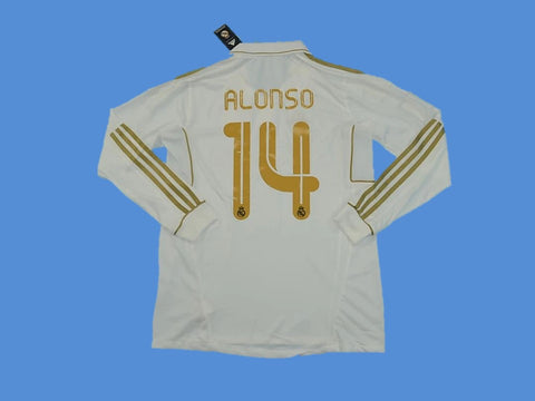 REAL MADRID 2011-2012 ALONSO 14 HOME JERSEY