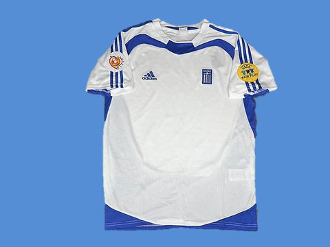 GREECE 2004 EURO CUP HOME  JERSEY
