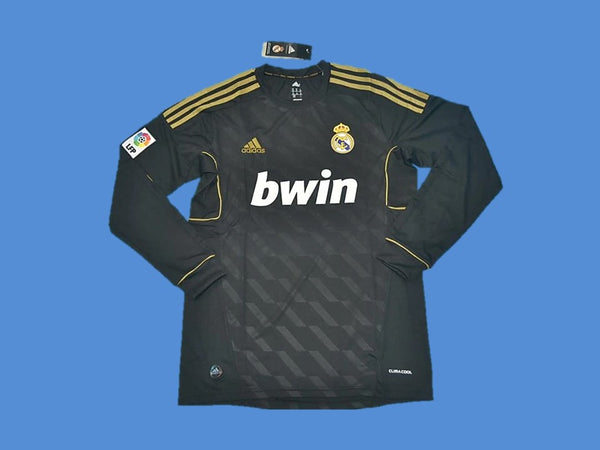 REAL MADRID 2011-2012 LONG SLEEVE AWAY JERSEY