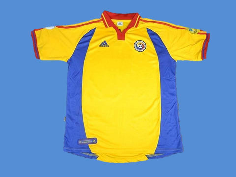 ROMANIA 2000 WORLD CUP HOME  JERSEY