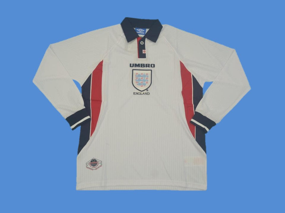 ENGLAND 1998 LONG SLEEVE  HOME  JERSEY