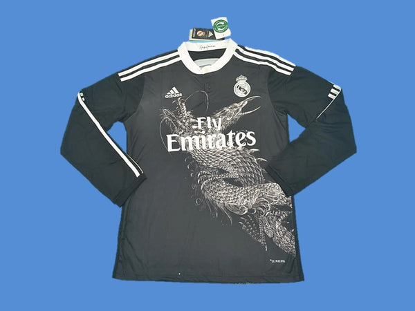 REAL MADRID 2014-2015 LONG SLEEVE AWAY JERSEY