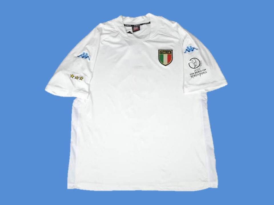 ITALY 2002 WORLD CUP AWAY  JERSEY