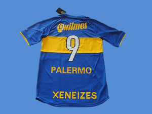 BOCA JUNIORS 2000 PALERMO 9 HOME  JERSEY