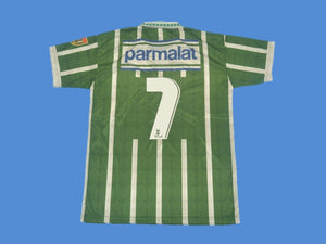 PALMEIRAS 1993 1994 NUMBER 7 HOME JERSEY