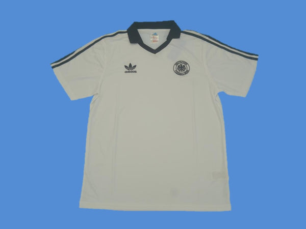 GERMANY 1980 NUMBER 11 HOME JERSEY