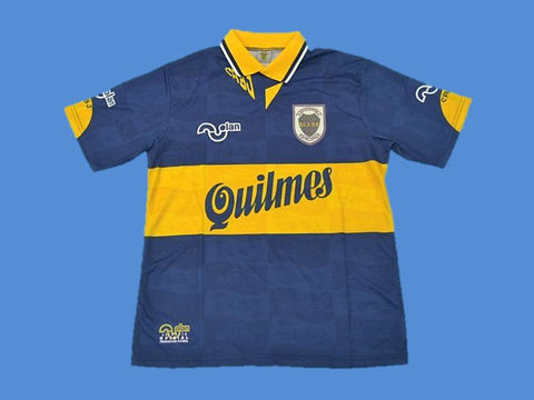 BOCA JUNIORS 1995 HOME  JERSEY