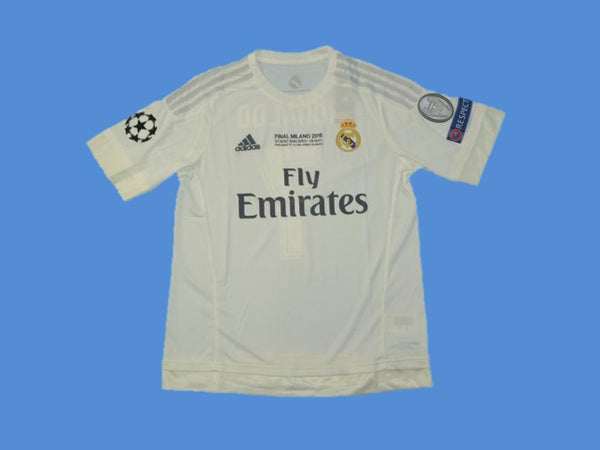 REAL MADRID 2015 2016 BENZEMA 9   HOME JERSEY FINAL CHAMPIONS LEAGUE