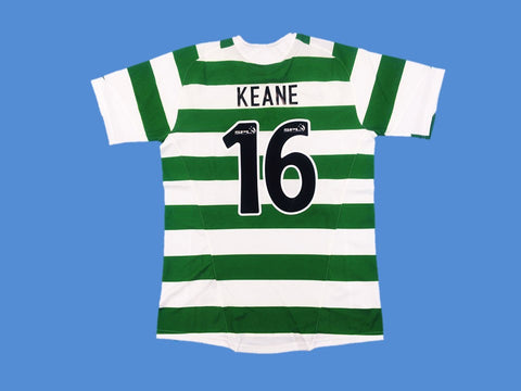 CELTIC  2005 2007  KEANE 16 HOME JERSEY