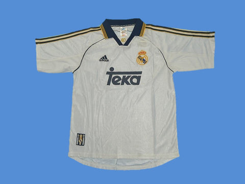 REAL MADRID 1999 2000 HOME JERSEY