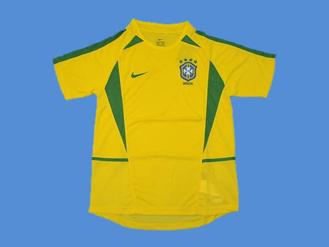 BRAZIL BRASIL 2002 WORLD CUP HOME JERSEY