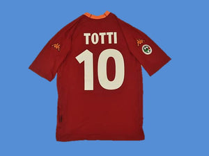 AS ROMA 2000 2001 TOTTI 10 HOME JERSEY