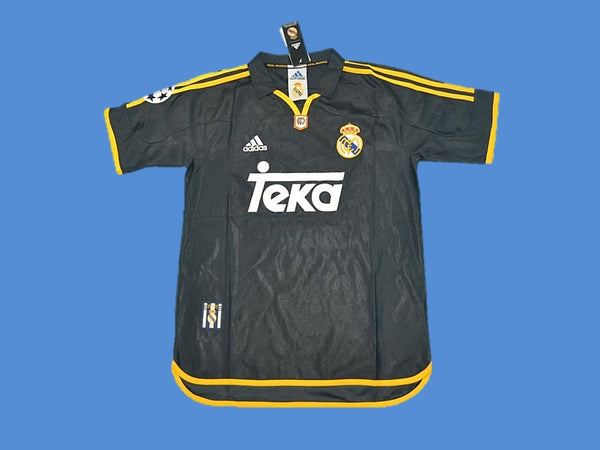 REAL MADRID 1999 2000 UCL FINAL HOME JERSEY