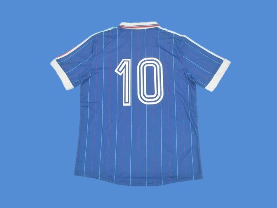 FRANCE 1982 NUMBER 10 HOME JERSEY
