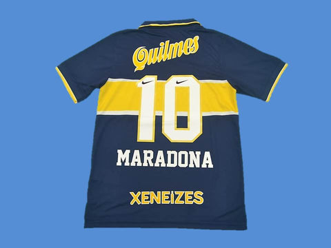 BOCA JUNIORS 1996 1997 MARADONA 10 HOME JERSEY
