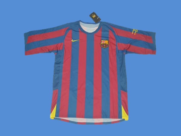 FC BARCELONA 2006 UCL FINAL HOME JERSEY