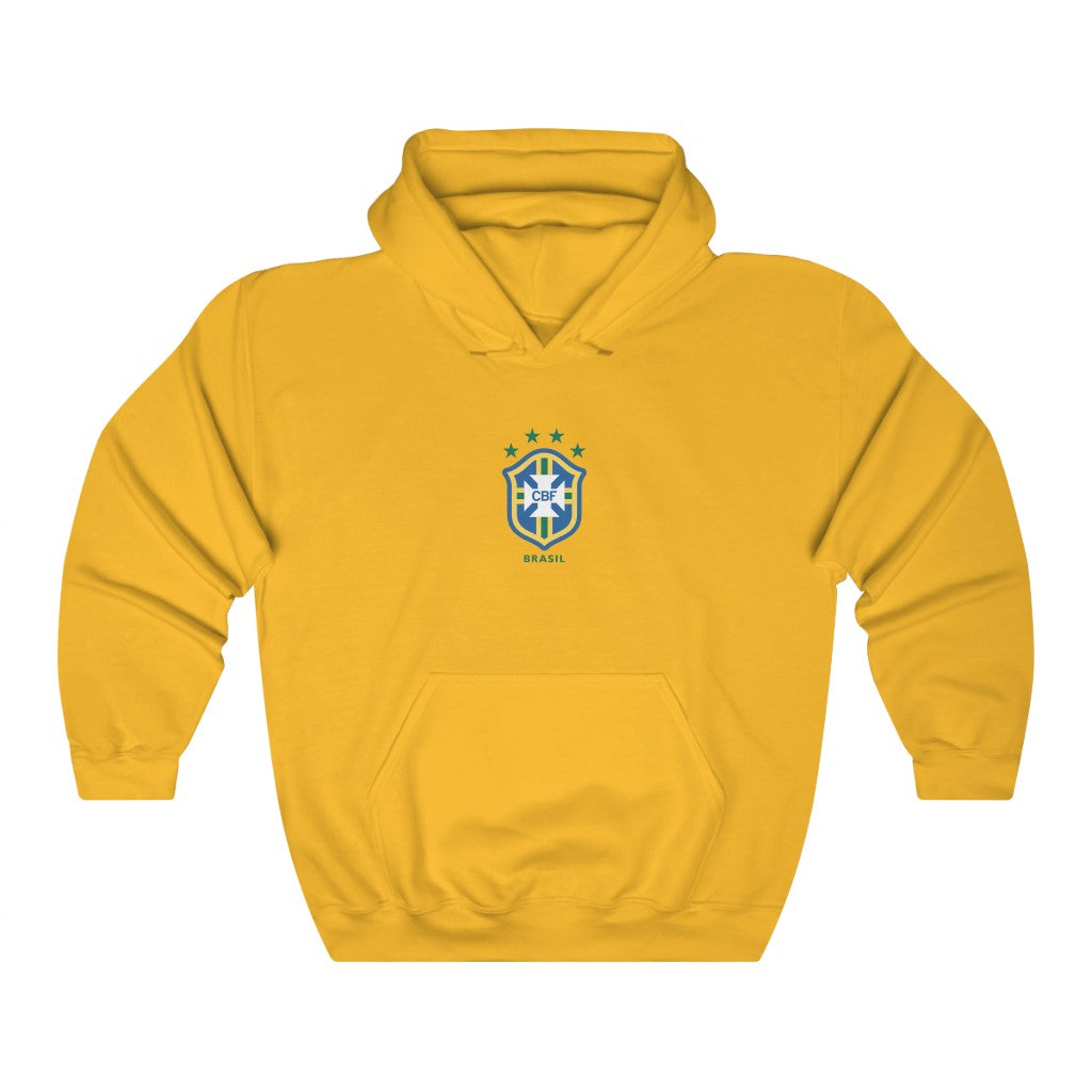 BRAZIL 1998 LOGO Hooded Sweatshirt