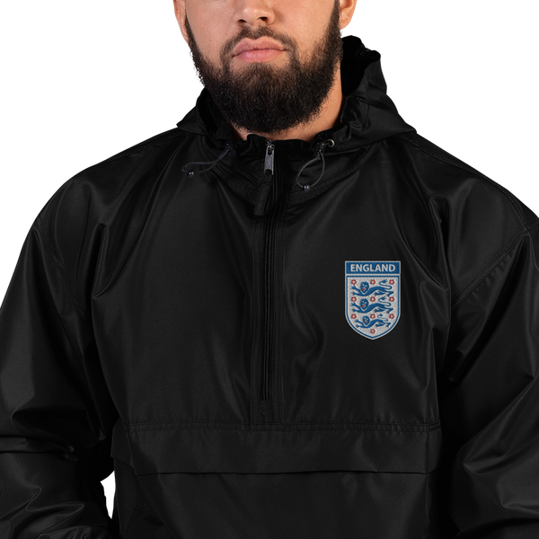 ENGLAND 2002 LOGO Embroidered Champion Packable Jacket