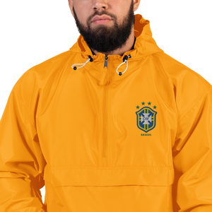 BRAZIL 1998 LOGO Embroidered Champion Packable Jacket