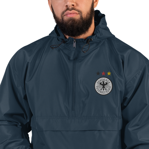 GERMANY 1998 LOGO Embroidered Champion Packable Jacket