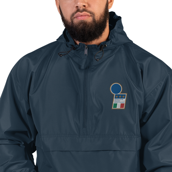 ITALY 1998 LOGO Embroidered Champion Packable Jacket