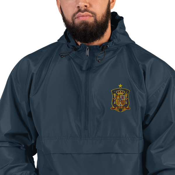 SPAIN LOGO Embroidered Champion Packable Jacket