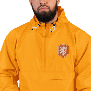 NETHERLANDS Embroidered Champion Packable Jacket