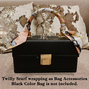 RAYA 4 PACK SPECIAL | Pink Paper Bag with Twilly Scarf (VEGAN)