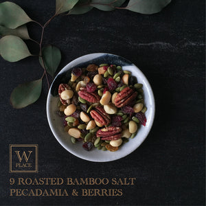 BAMBOO SALT PECADAMIA, RAISINS & BERRIES (Vegan) | 150g
