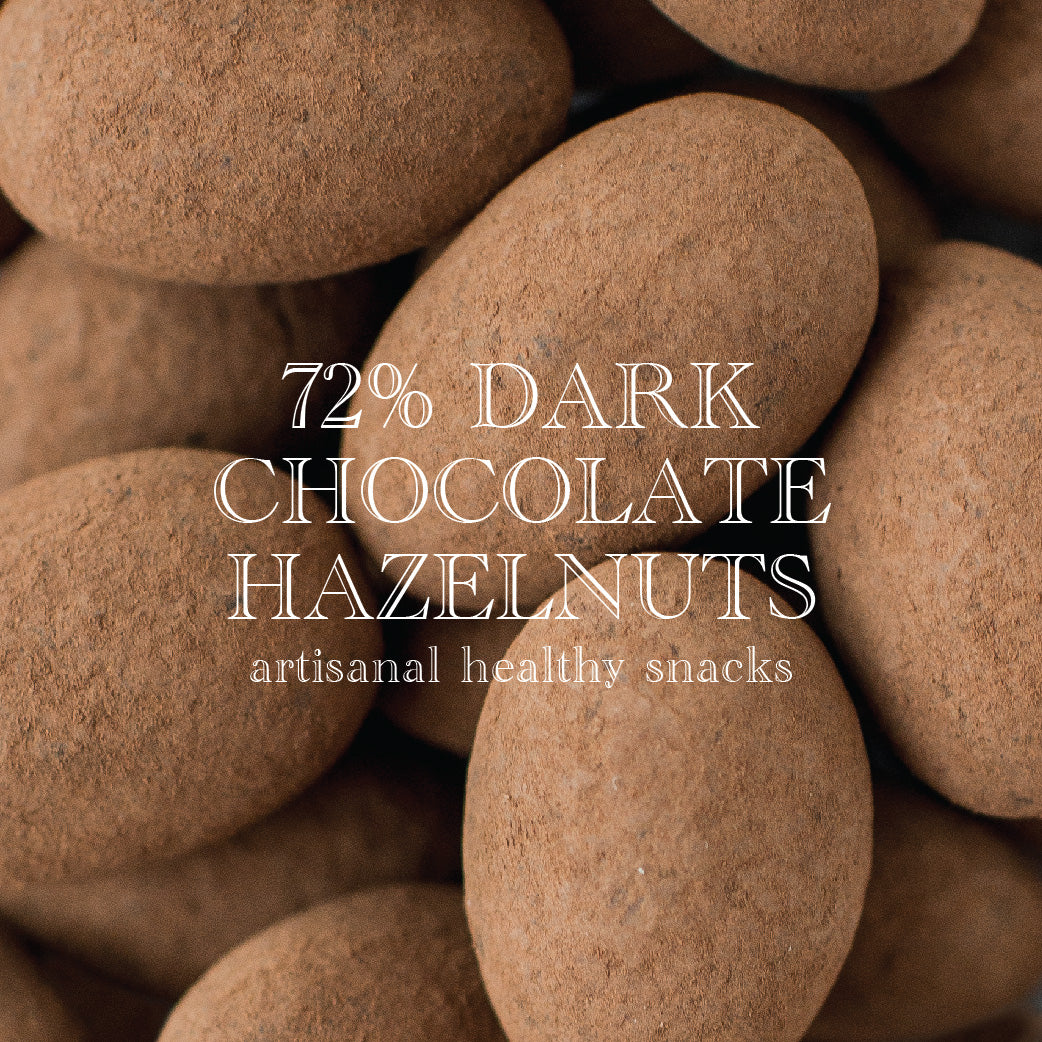 72% Chocolate Hazelnuts | 150g (VEGAN)