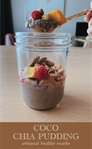 Coco Chia Pudding | 33g x 6pc *ORGANIC