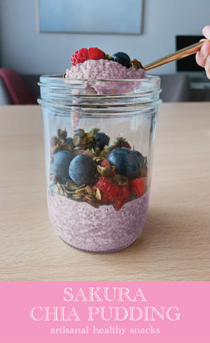 Sakura Chia Pudding | 33g x 6pc *ORGANIC