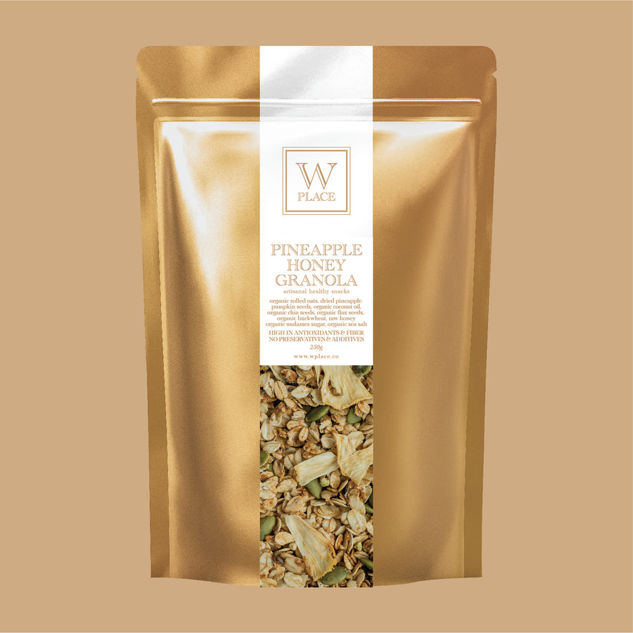 PINEAPPLE HONEY GRANOLA | 250g *ORGANIC