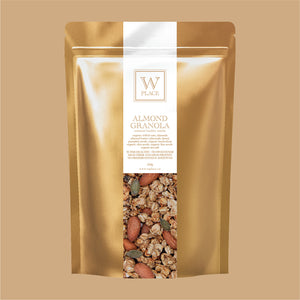 ALMOND GRANOLA | 250g *ORGANIC (Sugar Free | Oil Free | Vegan | Super Healthy)