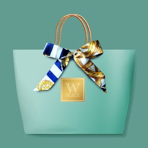 RAYA 4 PACK SPECIAL | Green Paper Bag with Twilly Scarf