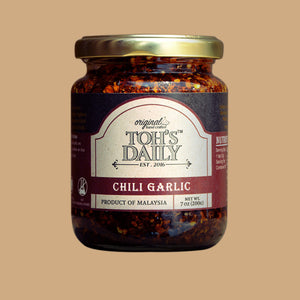 Toh's Daily Chilli Garlic Original / 200g - RM19/pc x 12 bottles