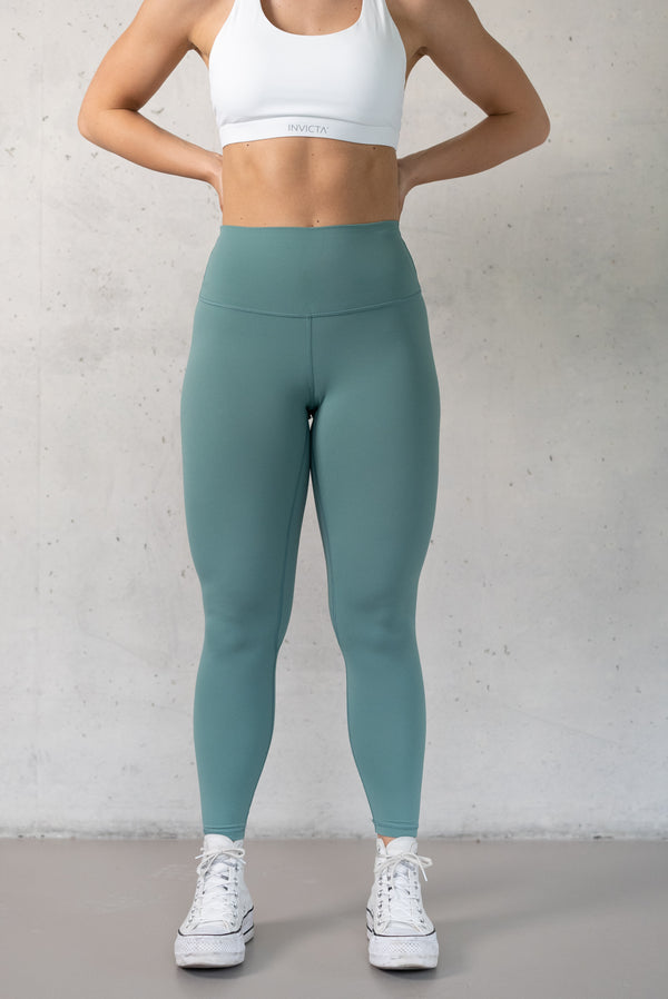 INVICTA Premium Solid Tights - River Green - Jana Invicta
