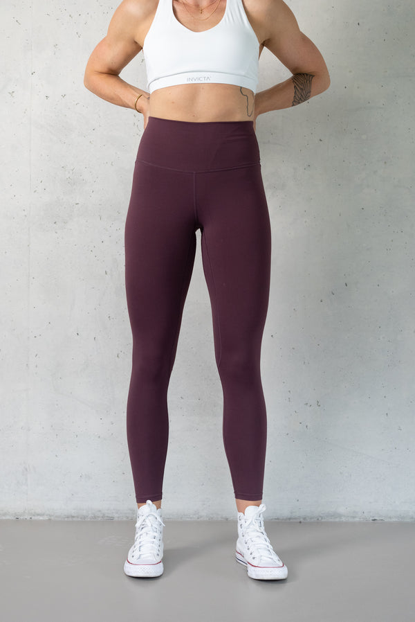 INVICTA Premium Solid Tights - Maroon Red - Jana Invicta