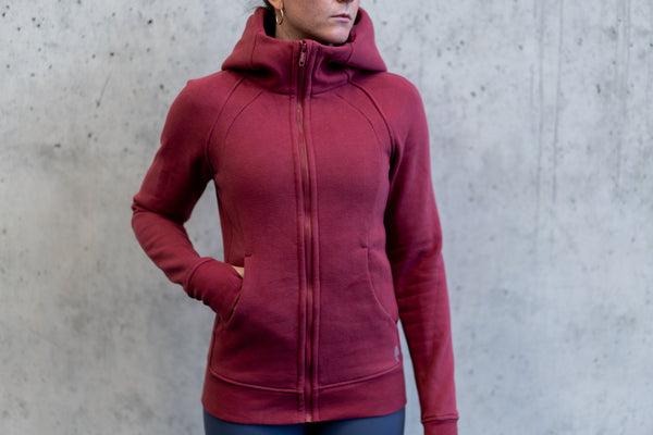 Invicta Winter Hoodie - Velvet Red - Jana Invicta