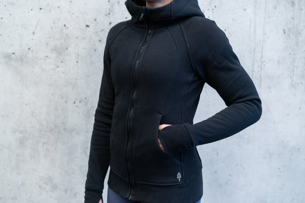 Invicta Winter Hoodie - Black - Jana Invicta