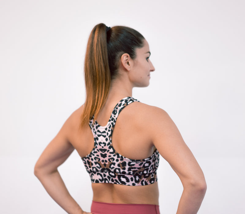 INVICTA Retro Leopard Bra - Basic - No pads - Jana Invicta