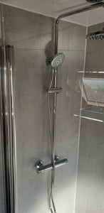 Carron Profile Quantum Bath - Over-Head Shower