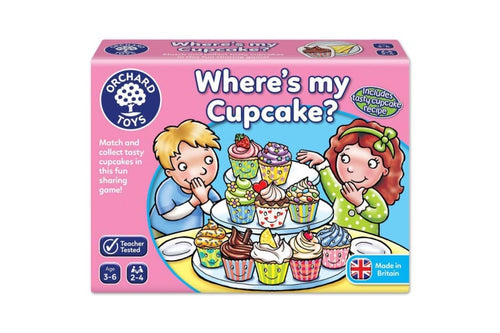 ORCHARD GAMES Where's My Cupcake
