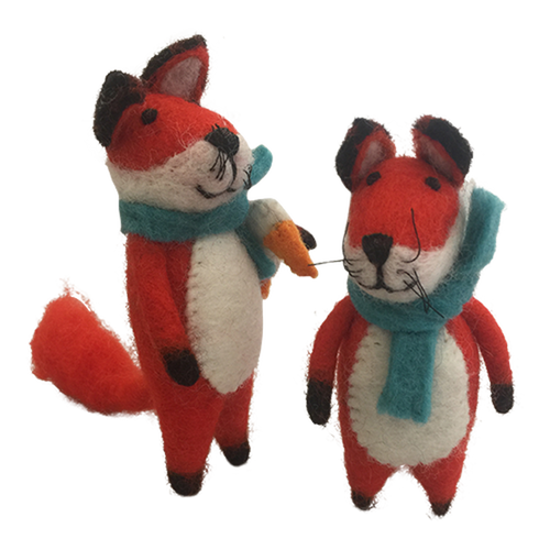 PAPOOSE Fox set of 2