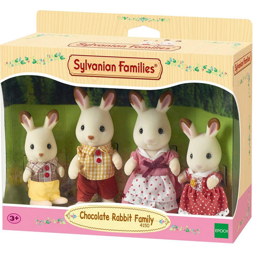 SYLVANIAN Chocolate Rabbit Family