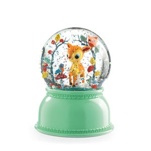 DJECO Snow Globe Night Light - Fawn