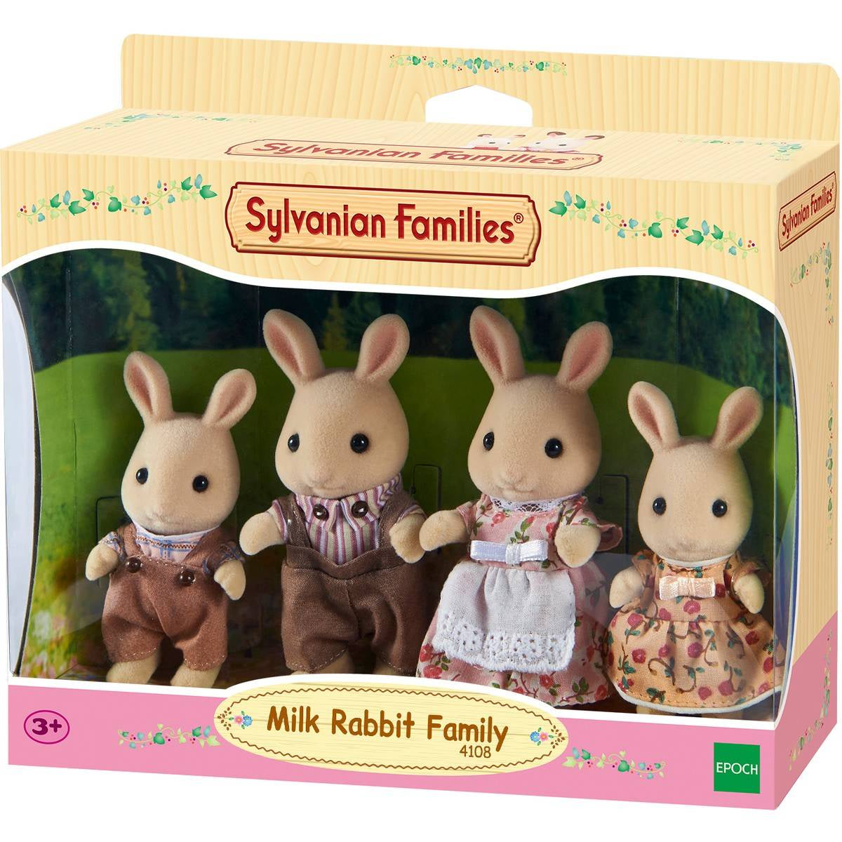 SYLVANIAN FAMILES Milk Rabbit Family